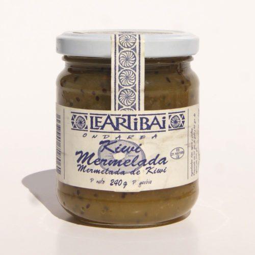 Mermelada De Kiwi, Leartibai, Tarro De Cristal 240g