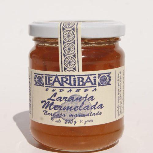 Mermelada De Naranja, Leartibai, Tarro De Cristal 240g