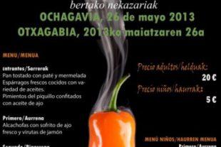 Comida Maridaje En Ochagavía