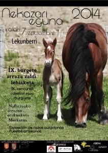 cartel feria lekumberri 07-09-2014