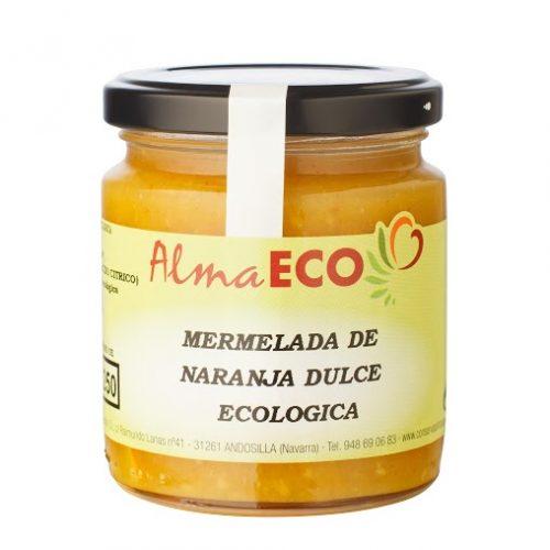 Mermelada De Naranja Dulce Ecológica, AlmaECO, Andosilla