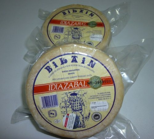 SAT BIKAIN, Quesos DO Idiazabal, Natural O Ahumado, 1kg-1/2kg-1/4kg, Etxarri-Larraun
