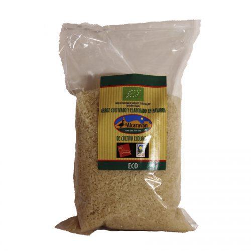Alcaraván, Arroz Ecológico Integral Semilargo, 1kg-5kg-25kg, Arguedas