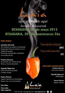 Cartel OCHAGAVIA