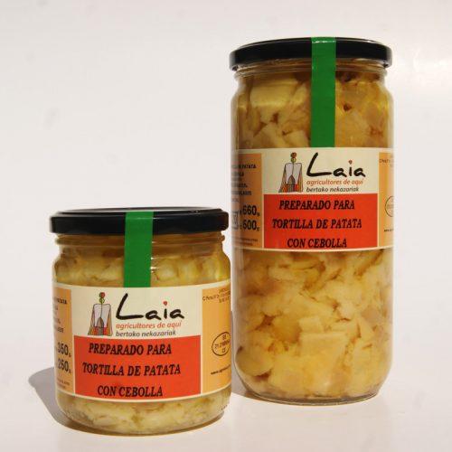 Preparado Para Tortilla De Patata CON Cebolla, Laia, Andosilla