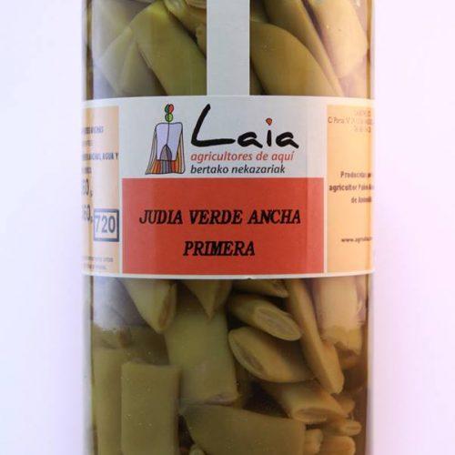 Judía Verde Ancha De Primera – Laia – Tarro Cristal 720g, Andosilla